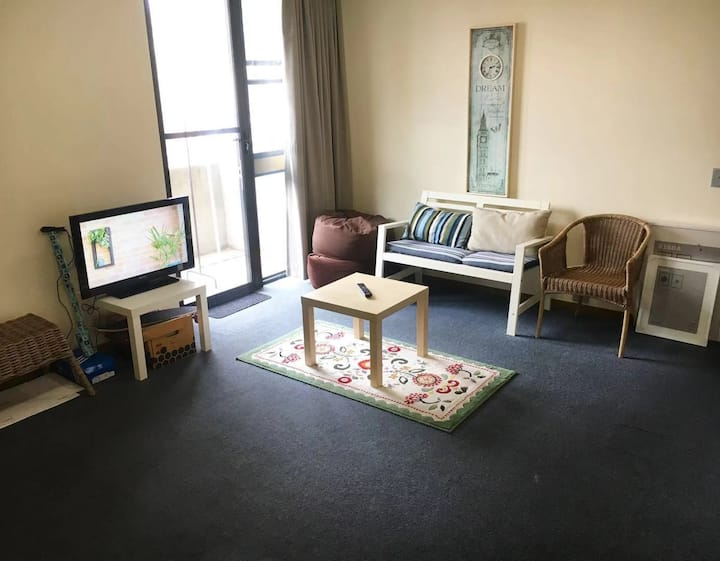 A cozy bedroom with perfect location in Carlton