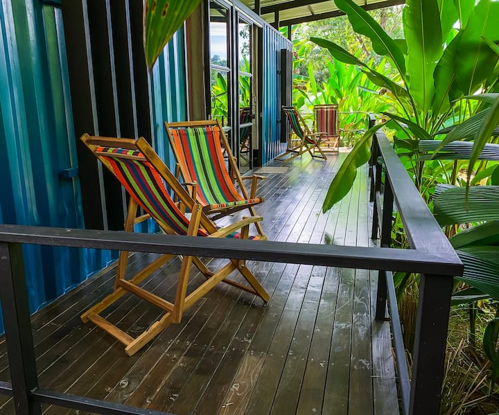 Room with terrace-A/C - Private Bathroom - Uvita