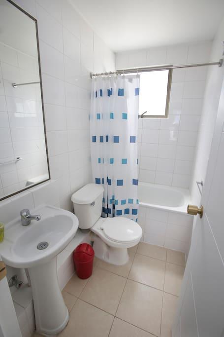 Baño segundo dormitorio