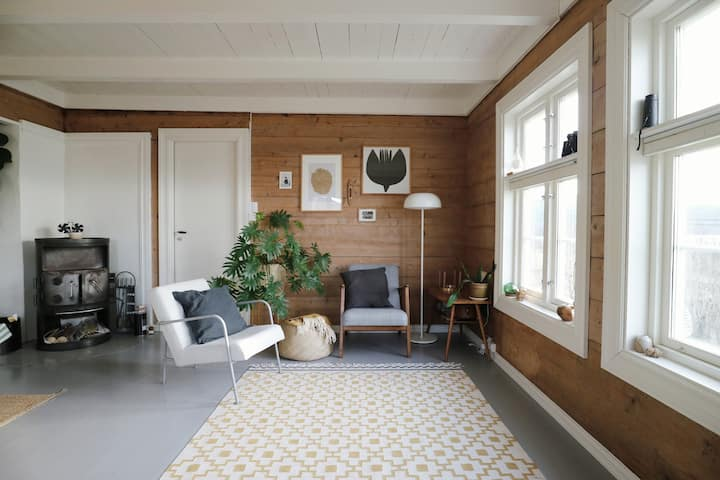 ● PR in Nordic Farmhouse with Magical Fjord Views