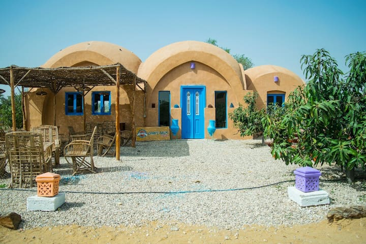 Cute Nubian  Camp