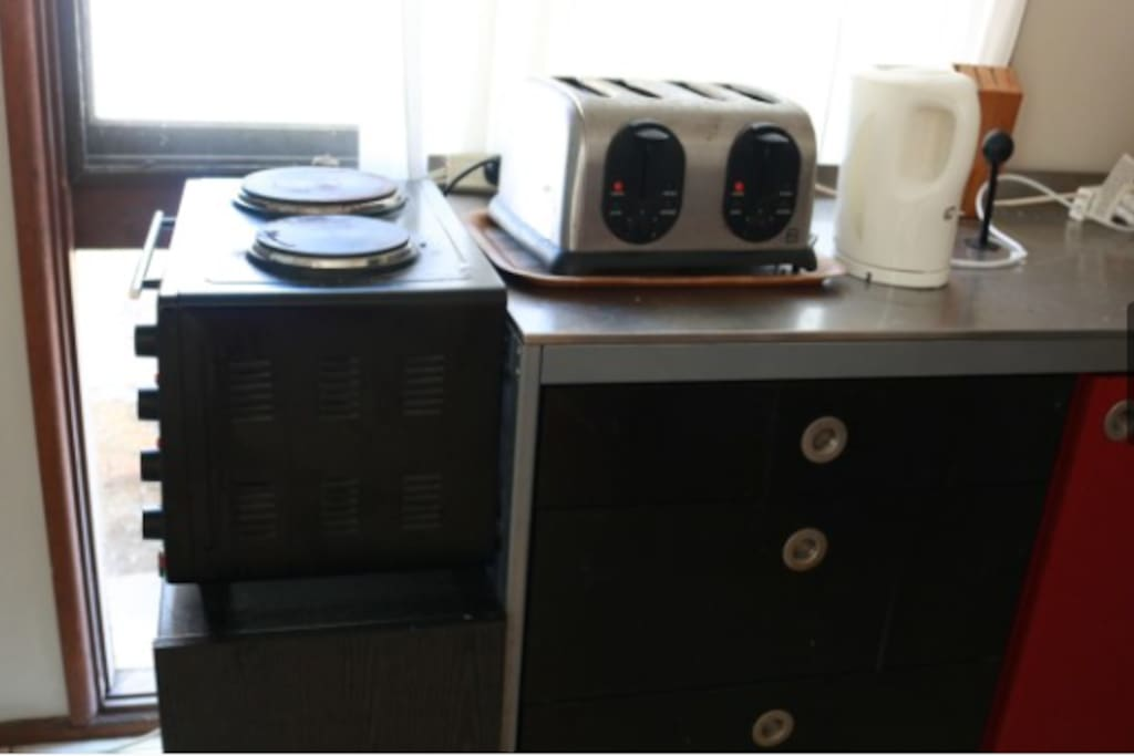 Kitchen area for Br 1 (shared)
