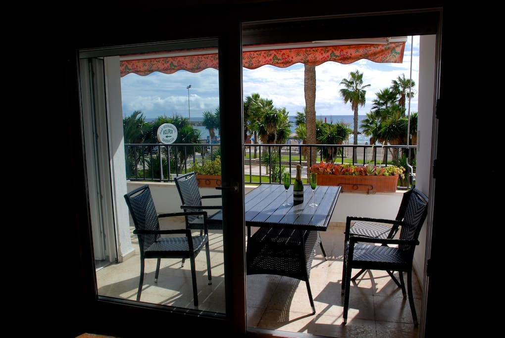 seaview from the dining-room and terrace
