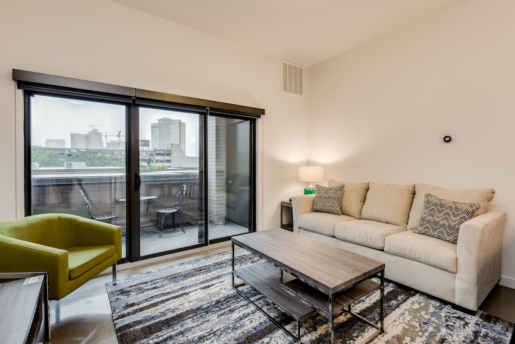 Living room at The James by Stay Alfred