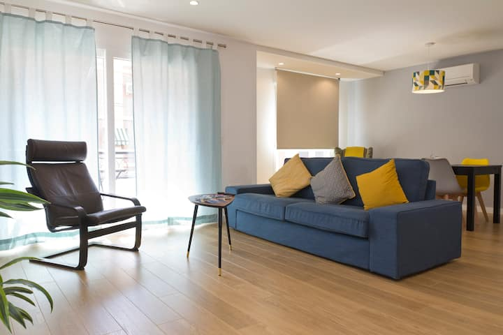 Modern beach apartment