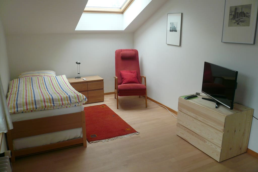 As a single room
