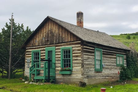 The Governor Meagher Cabin in Virginia City