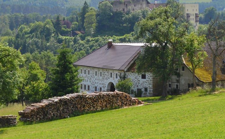 Bauernhof - Stadtnähe, mitten im Grünen