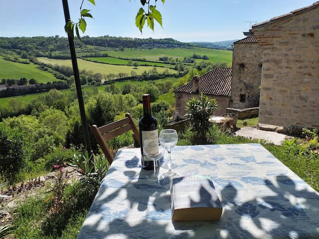 Cordes-sur-Ciel Home with a View