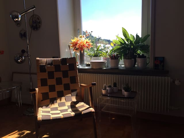 cosy flat with a balcony near Baden/Zurich - Ennetbaden - Apartment