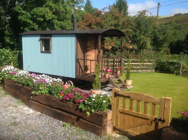 The Shepherds Hut ,Brendon, Exmoor.
