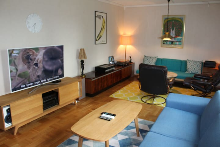 Two bedroom apartment (Sleeps 4) in central Åmål