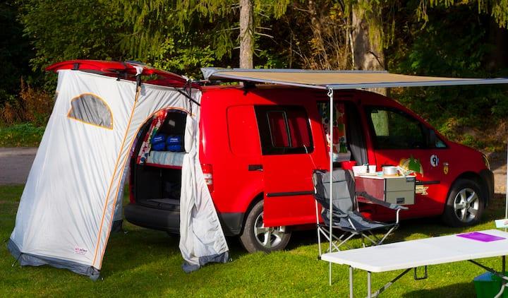 Nordic Campers BnB on wheels