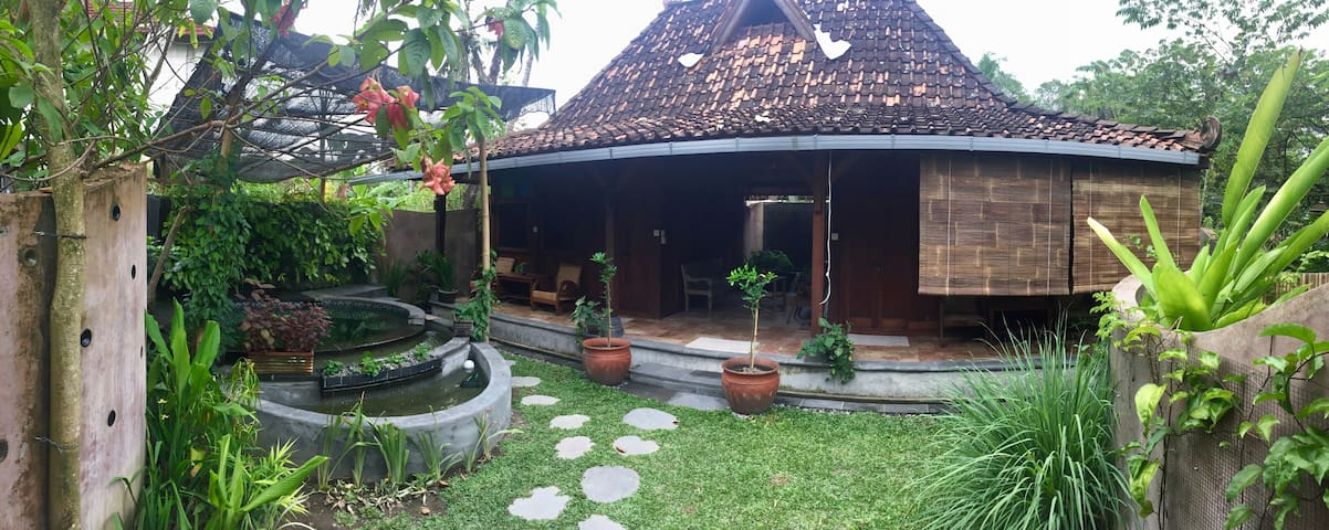 Front interior of Bungalow 5