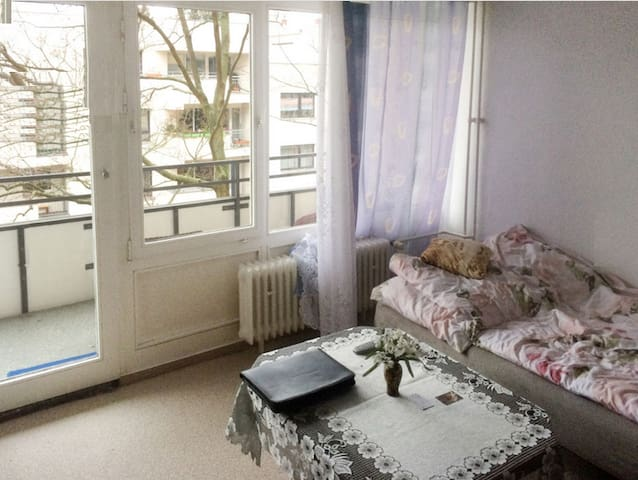 22-m²-Apartment Erlen View