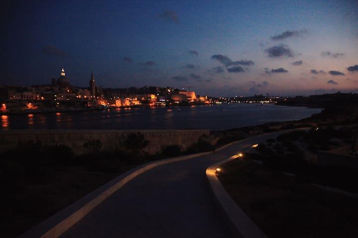 Valletta View from Sliema