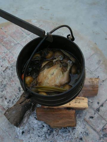 Cooking local cuisine