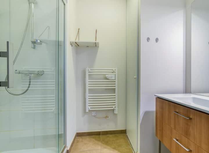 Appartement spacieux vue mer
