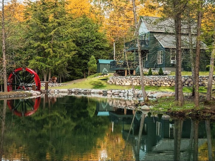 14 Ft Water Wheel- lake access with beach