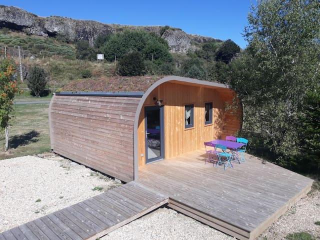 Domaine de l'Ours : Lodge insolite La Bulle Verte