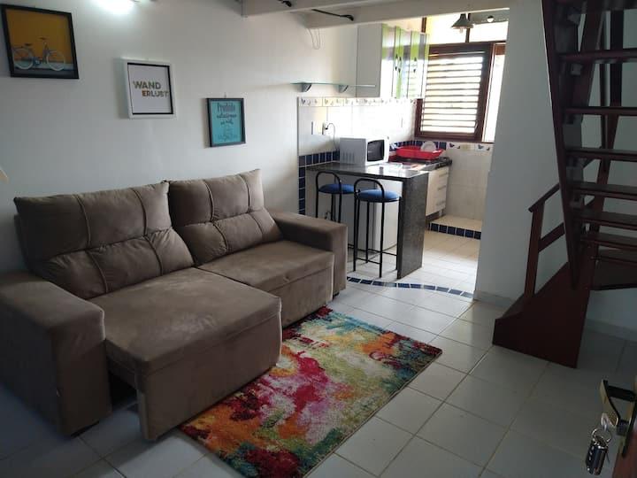 Apartamento Beira mar na Praia do Francês