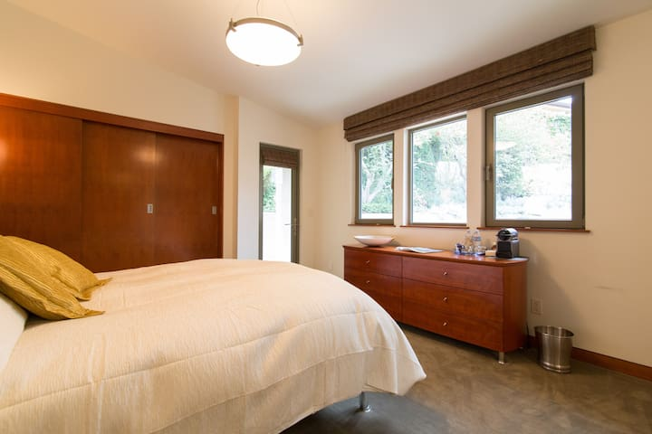 Guest Suite 2: Private Entrance with Full Size Closets