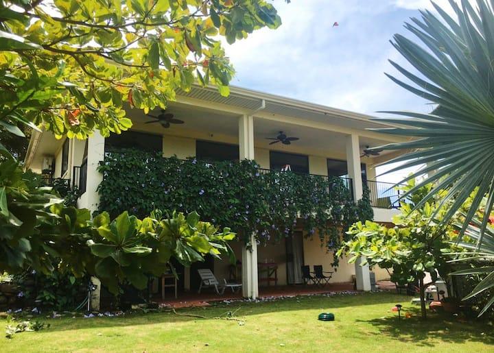 REAL COSTA RICAN OASIS! Casa de Sirena Verde 🧜🏼♀️