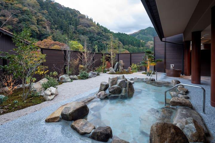 出雲湯村温泉国民宿舎清嵐荘 Izumo-Yumura Onsen  Seiranso-Western