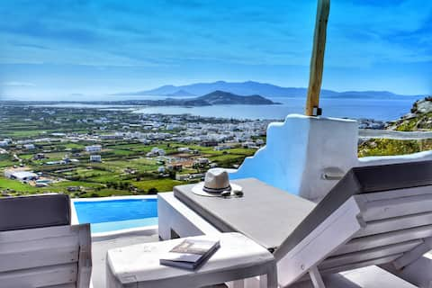 Eye of Naxos. Unique view and Privacy!