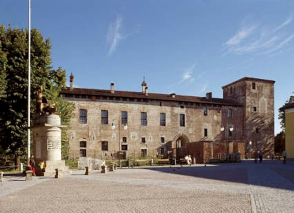 Castello Mediceo - the Castle of the Medici.