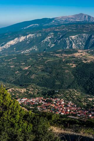 Stunning view house/villa, Rapsani, Mt Olympus