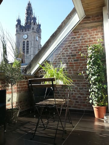 Superbe Loft vue sur Beffroi Douai - Douai - Apartamento