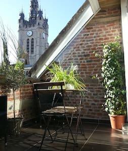 Superbe Loft vue sur Beffroi Douai - Douai - Pis
