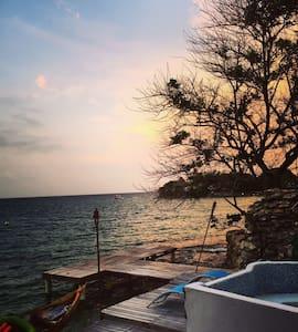 Cabaña- Islas del Rosario - การ์ตาเฮนา