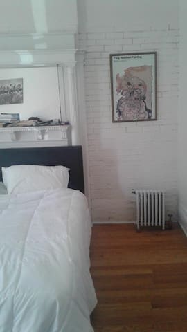 Large, sunlit room in beautiful Stuyvesant Heights