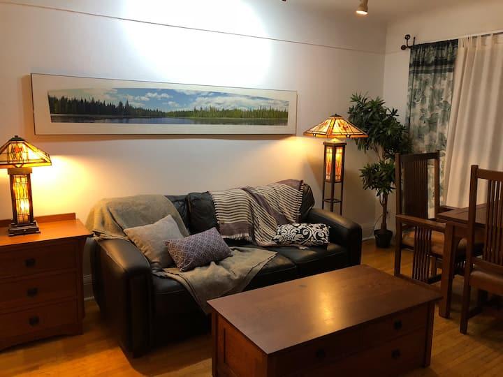 The Annex - Cozy 1 Bedroom Apt. (bright 2nd floor)