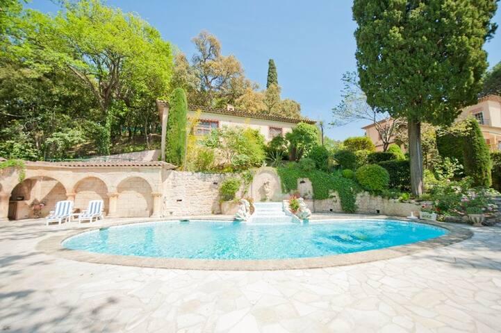 Paradise in Provence/Paradis en Provence - Pégomas - Villa
