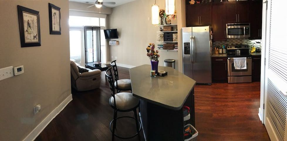 Luxury, clean entire 1 bedroom Raleigh apartment - Raleigh - Apartmen