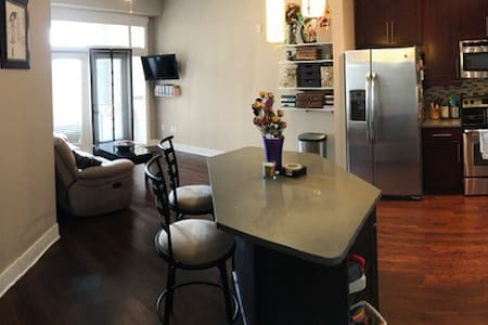 Luxury, clean entire 1 bedroom Raleigh apartment - Raleigh - 아파트
