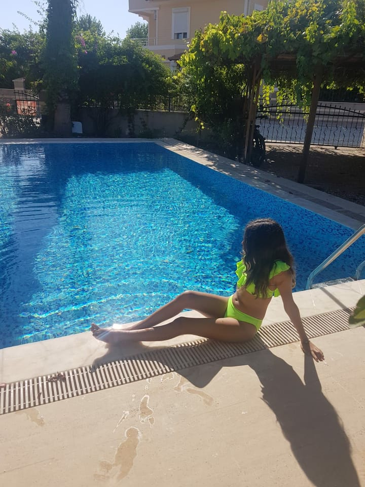 ozel havuzlu 2 private villa pool golf