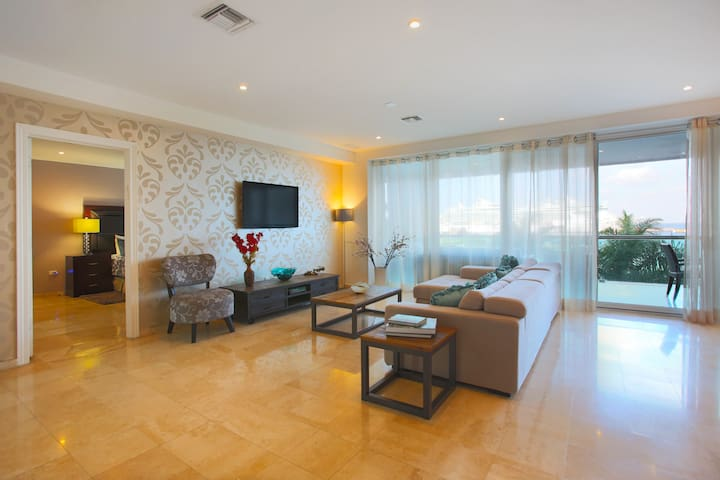 Super cozy ocean view condo with great amenities - San Miguel de Cozumel - Wohnung