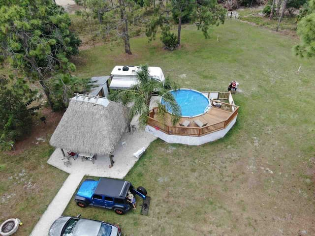 VACATION HOME  Clewiston, ft. Myers Cable & WiFi.