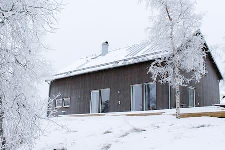 Modern Villa 4-17 mars Biathlon nära Östersund