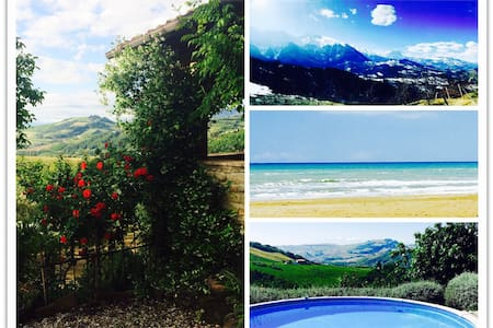 Abruzzo Farmhouse w/Stunning Views - Montefino - Talo