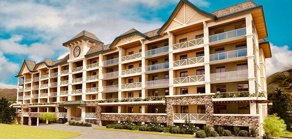 2BR PINE SUITES TAGAYTAY CABLE/WIFI(50MBPS)4-6 pax
