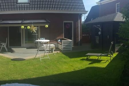 Wonderful house with sunny garden near Amsterdam - Assendelft