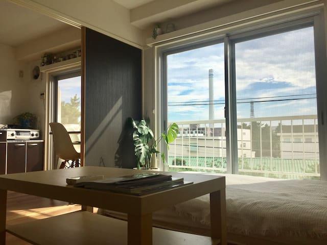 chillaxing Ebisu apartment, easy access, 恵比寿駅8min
