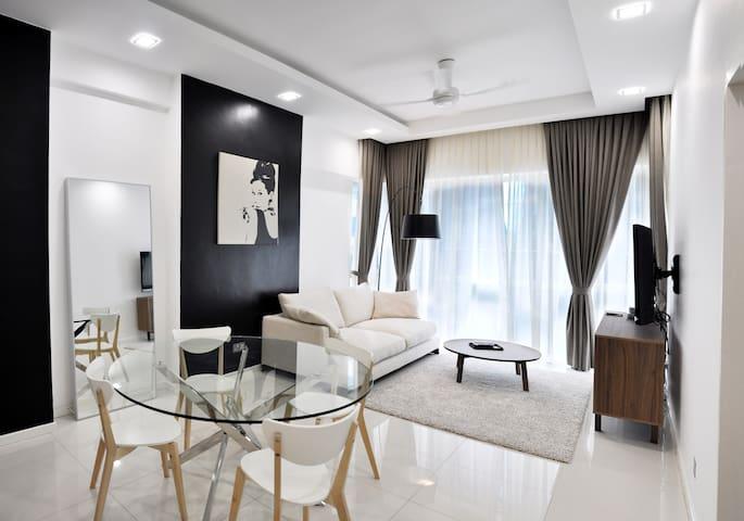 SUASANA SENTRAL LOFT 2 BEDROOMS - Kuala Lumpur - Service appartement