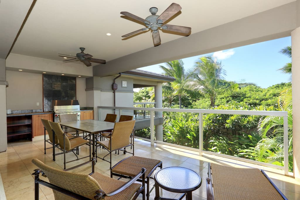 Ho'olei 24-1-Relax and unwind on the lanai