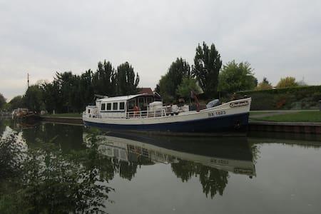 Cabine Jack London à bord d' ANDANTE - Fragnes